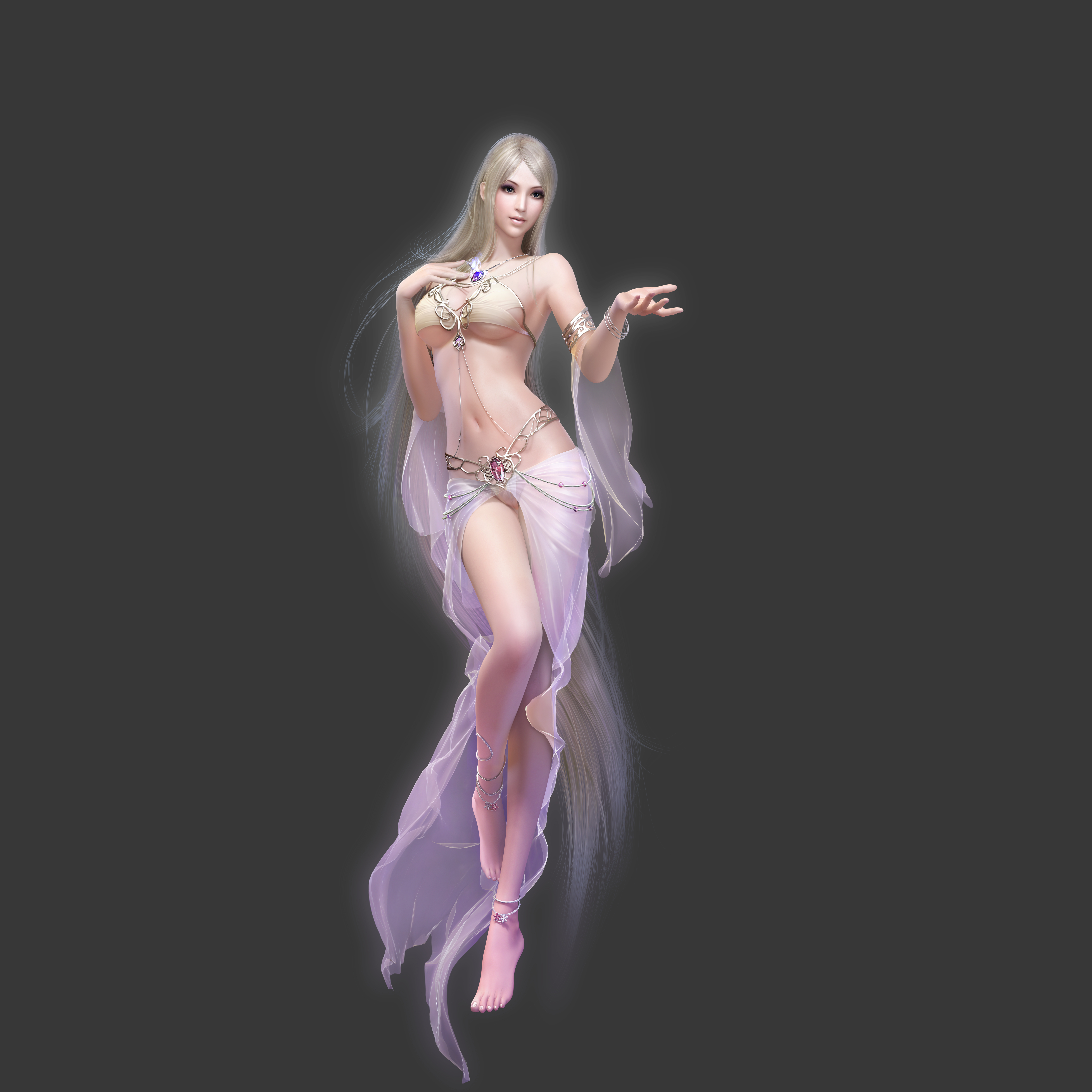 Aion nude wallpaper nude women