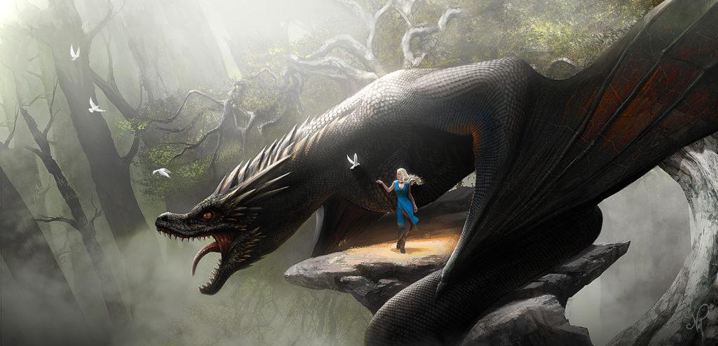 Daenerys & Drogon