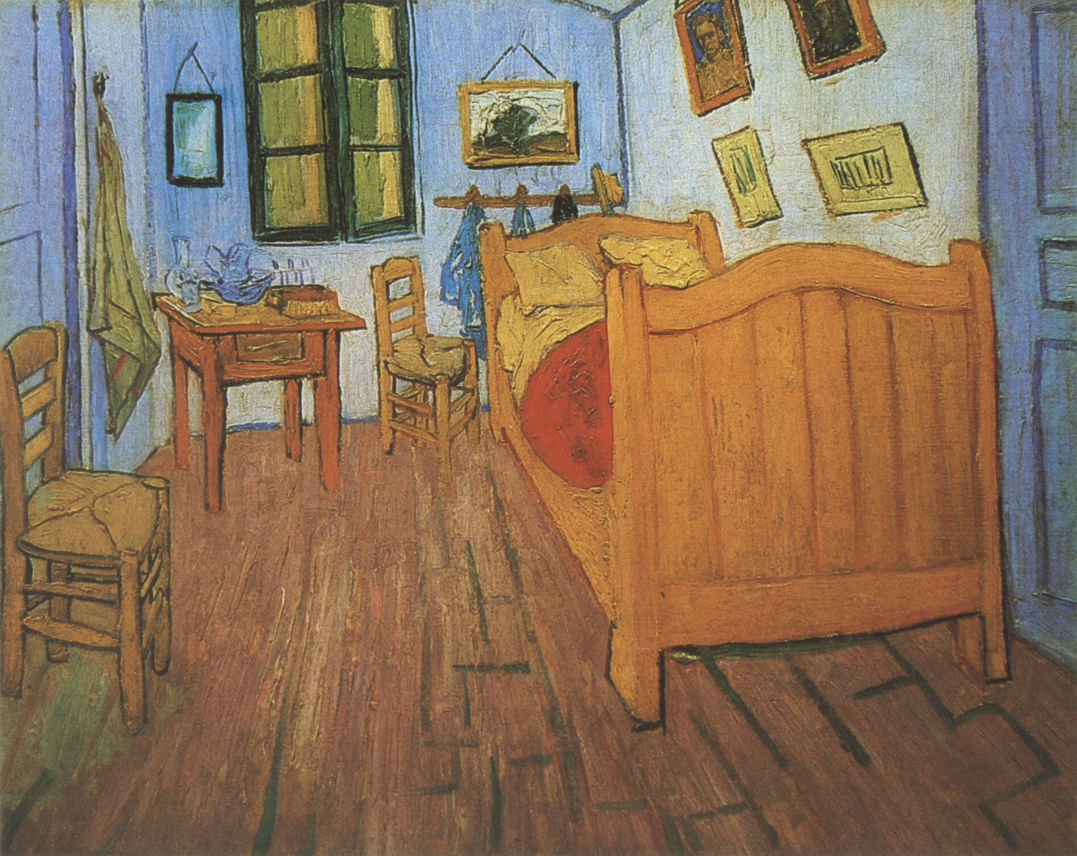 537 Vincent S Bedroom In Arles 1888