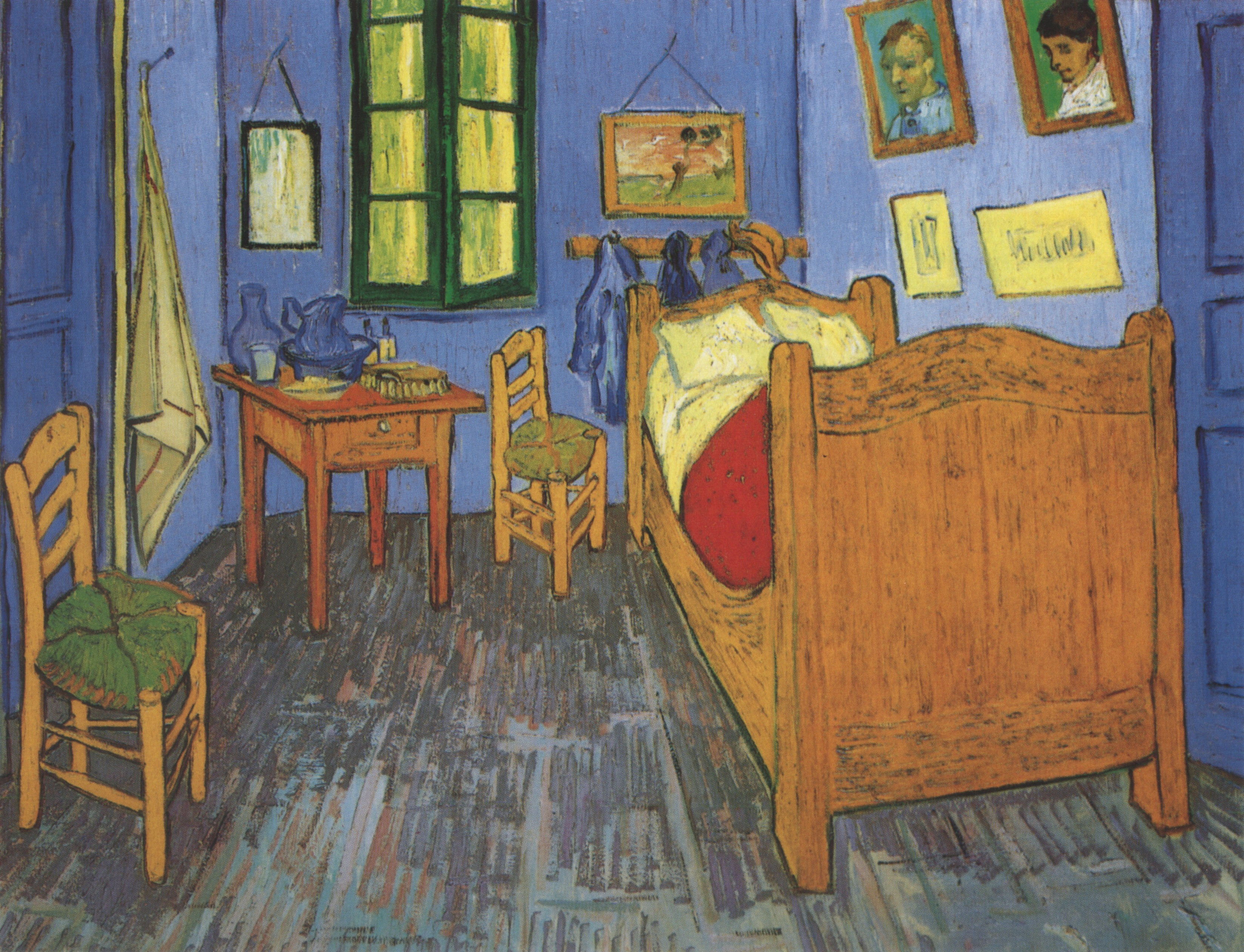 636 The Vincent s Bedroom in Arles Saint Remy 1889 • Image Album