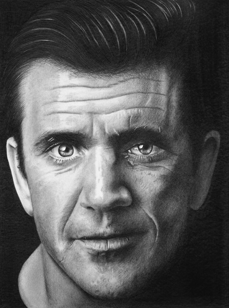 Mel Gibson by Shine Chacko