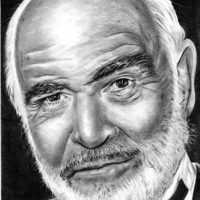 Sean Connery by Shine Chacko